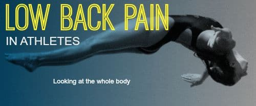 low back pain in athletes | Physical Therapy in Huntington Beach